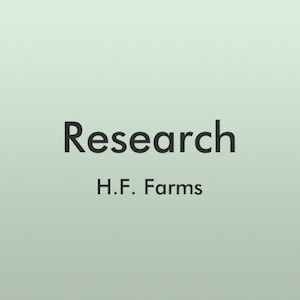 Research - H.F. Farms